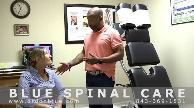 <p>Dr. Don Blue D.c.performs A Postural Analysis In Conway, SC.</p>